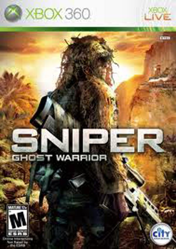 Sniper: Ghost Warrior Video Game Back Title by WonderClub