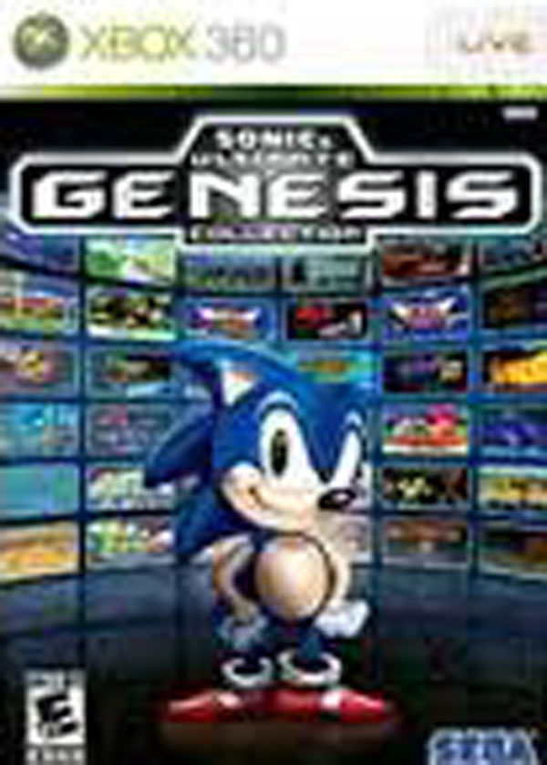 Sonic's Ultimate Genesis Collection Video Game Back Title by WonderClub
