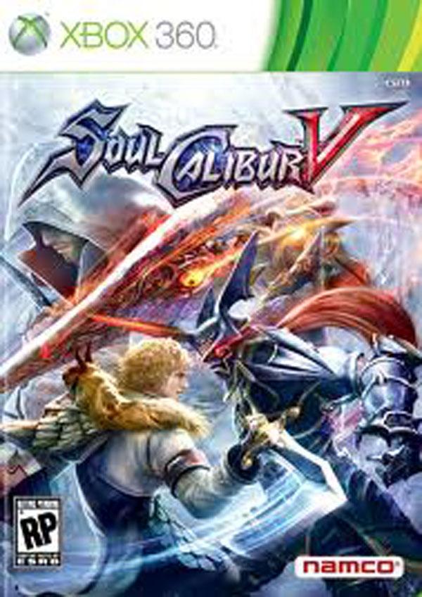 Soulcalibur V Video Game Back Title by WonderClub