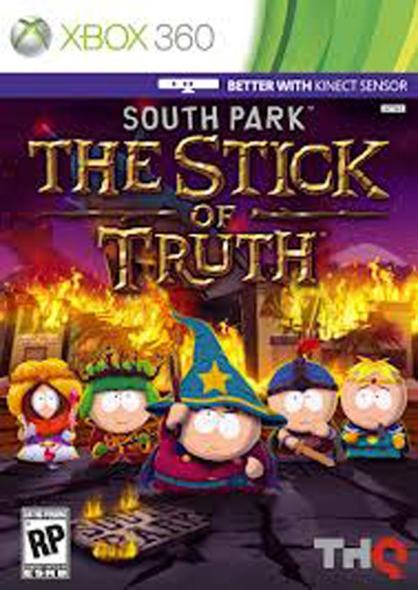 South Park: The Stick Of Truth Video Game Back Title by WonderClub
