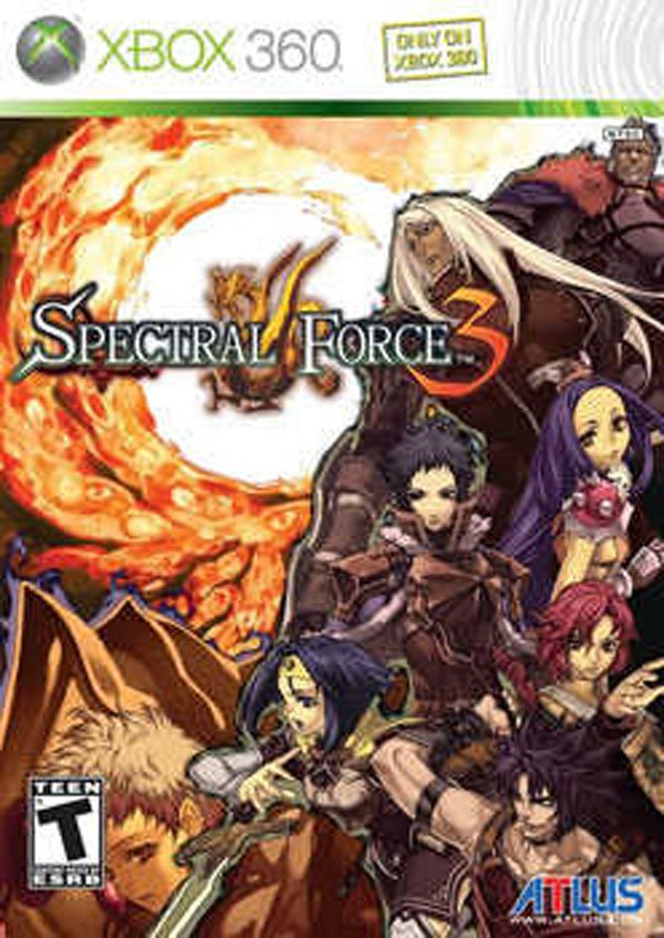 Spectral Force 3: Innocent Rage Video Game Back Title by WonderClub