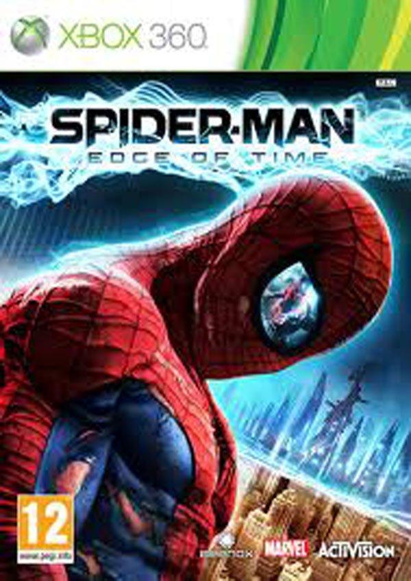 Spider-Man: Edge Of Time Video Game Back Title by WonderClub
