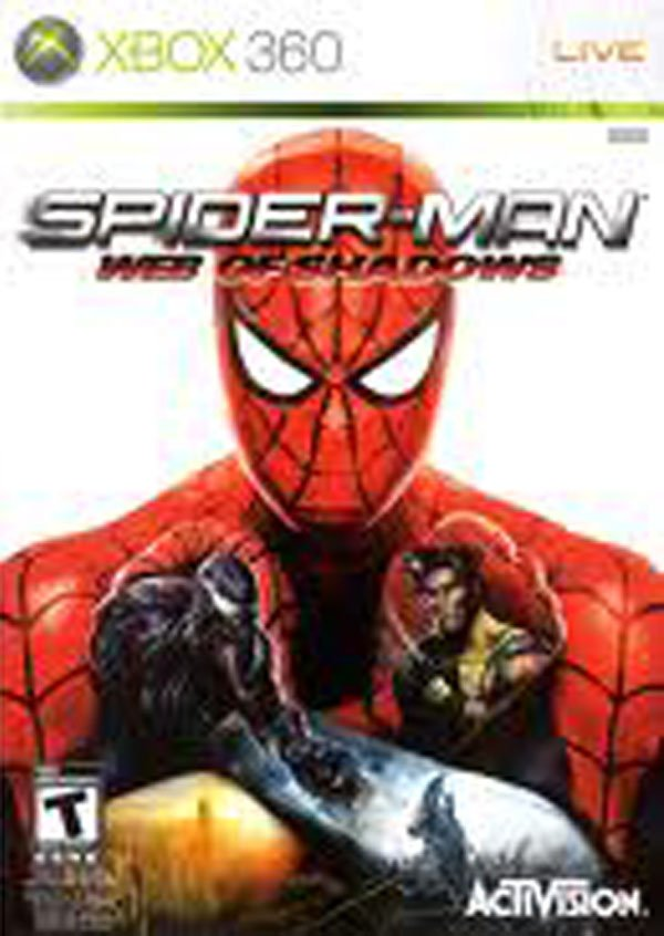 Spider-Man: Web Of Shadows Video Game Back Title by WonderClub