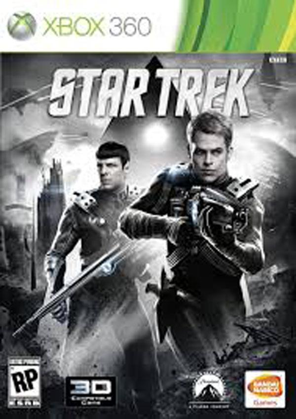 Star Trek (2013 Video Game) Video Game Back Title by WonderClub