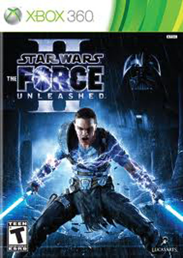 Star Wars: The Force Unleashed II Video Game Back Title by WonderClub