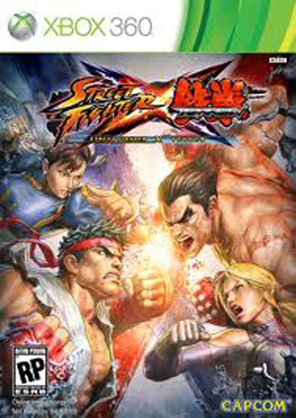 Street Fighter X Tekken Video Game Back Title by WonderClub