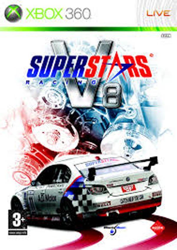 Superstars V8 Racing Video Game Back Title by WonderClub