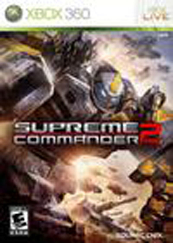 Supreme Commander 2 Video Game Back Title by WonderClub