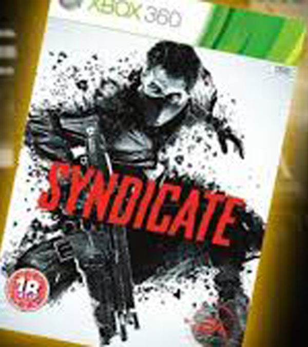 Syndicate (2012 Video Game) Video Game Back Title by WonderClub