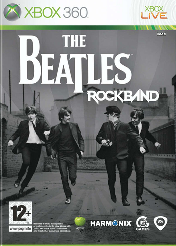 The Beatles: Rock Band   Video Game Back Title by WonderClub