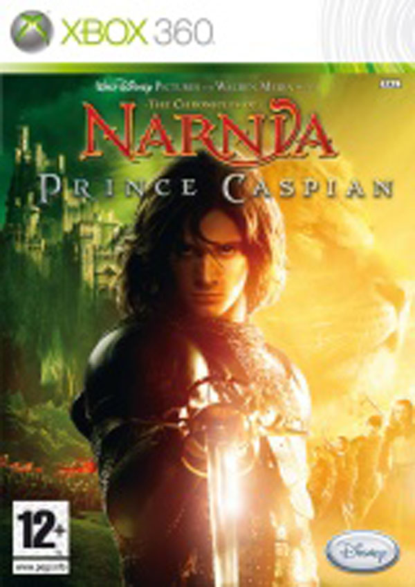 The Chronicles Of Narnia: Prince Caspian  Video Game Back Title by WonderClub