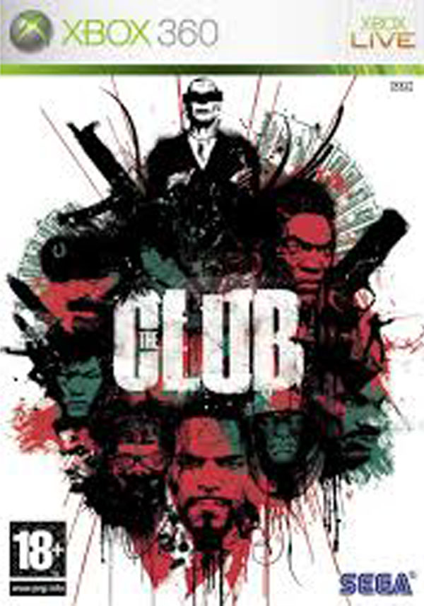 The Club Video Game Back Title by WonderClub