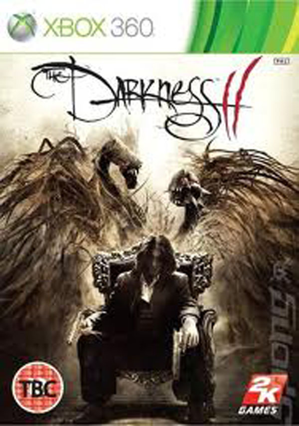 The Darkness II Video Game Back Title by WonderClub