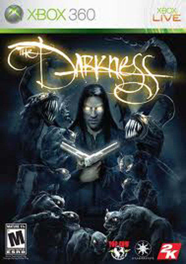 The Darkness Video Game Back Title by WonderClub