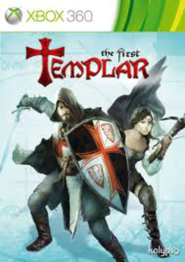 The First Templar Video Game Back Title by WonderClub