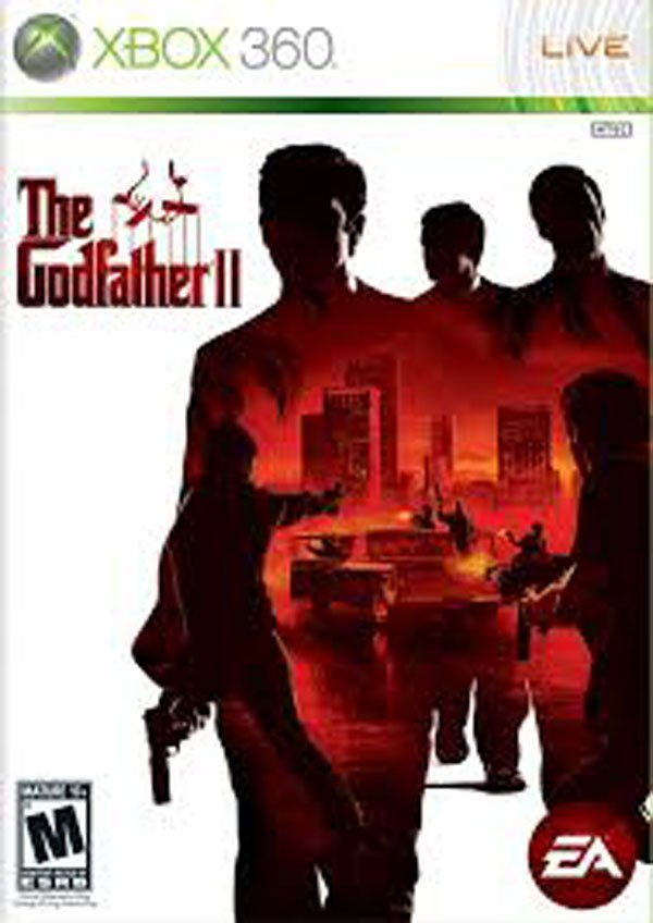 The Godfather II  Video Game Back Title by WonderClub