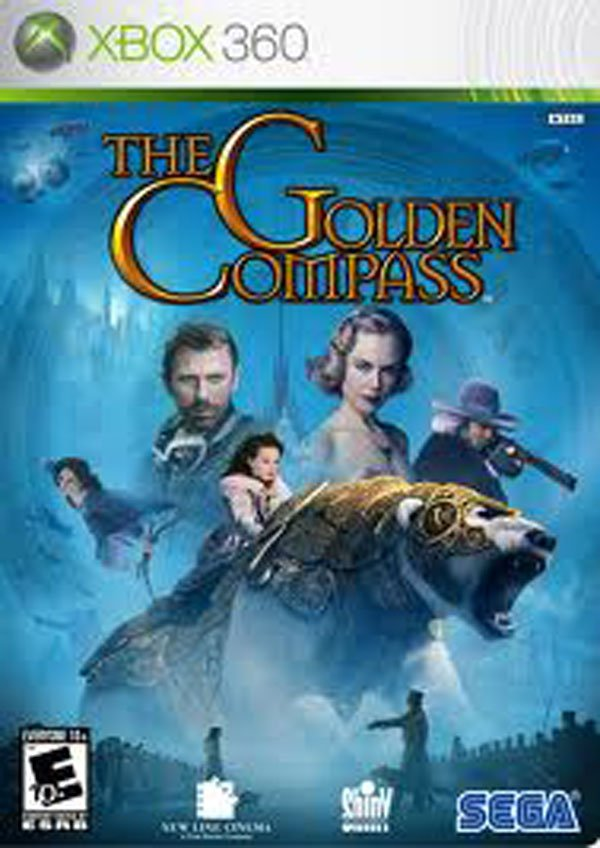 The Golden Compass  Video Game Back Title by WonderClub