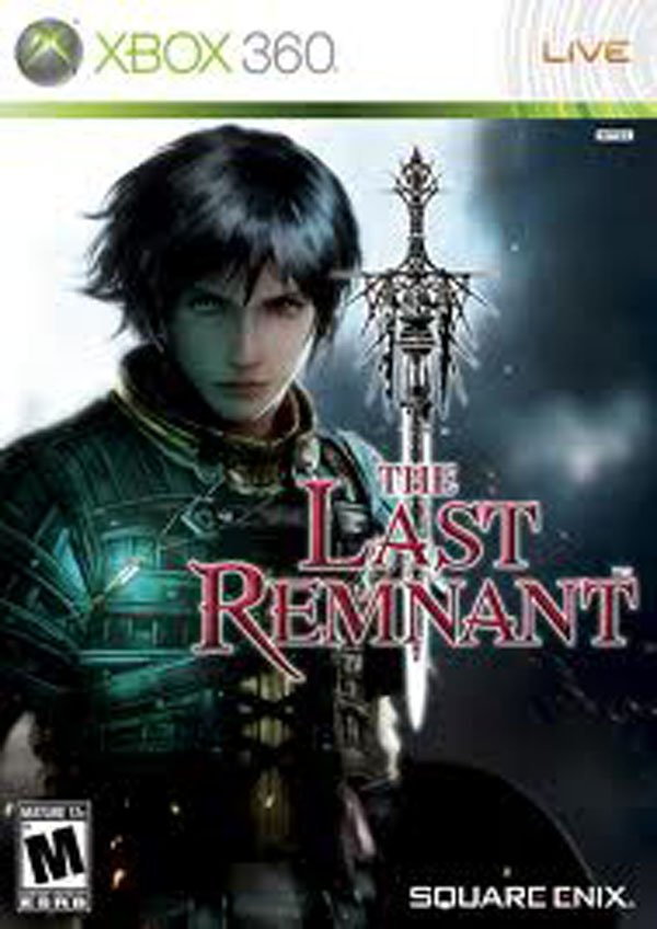 The Last Remnant Video Game Back Title by WonderClub