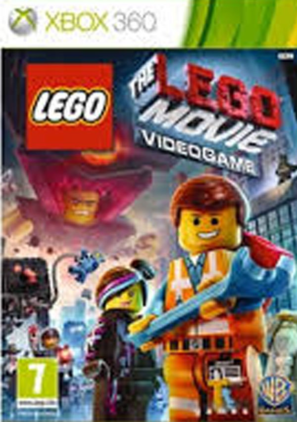 The Lego Movie Videogame Video Game Back Title by WonderClub