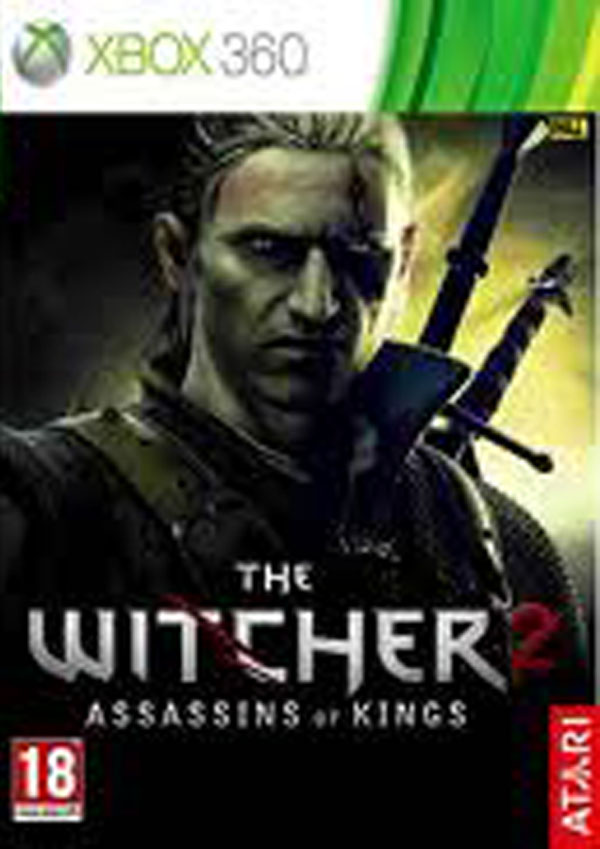 The Witcher 2: Assassins Of Kings Video Game Back Title by WonderClub