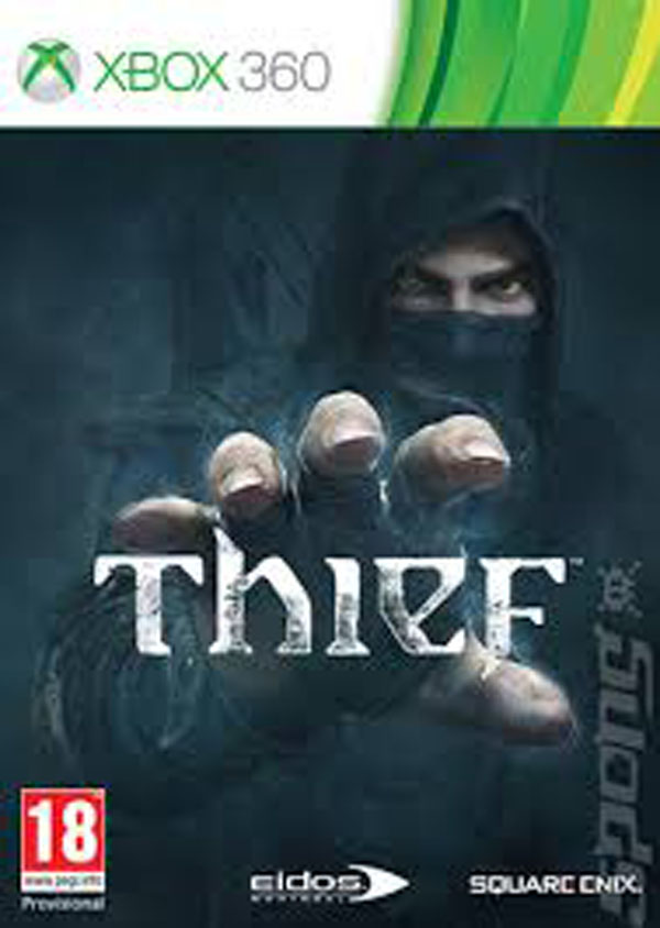 Thief (video Game) Video Game Back Title by WonderClub