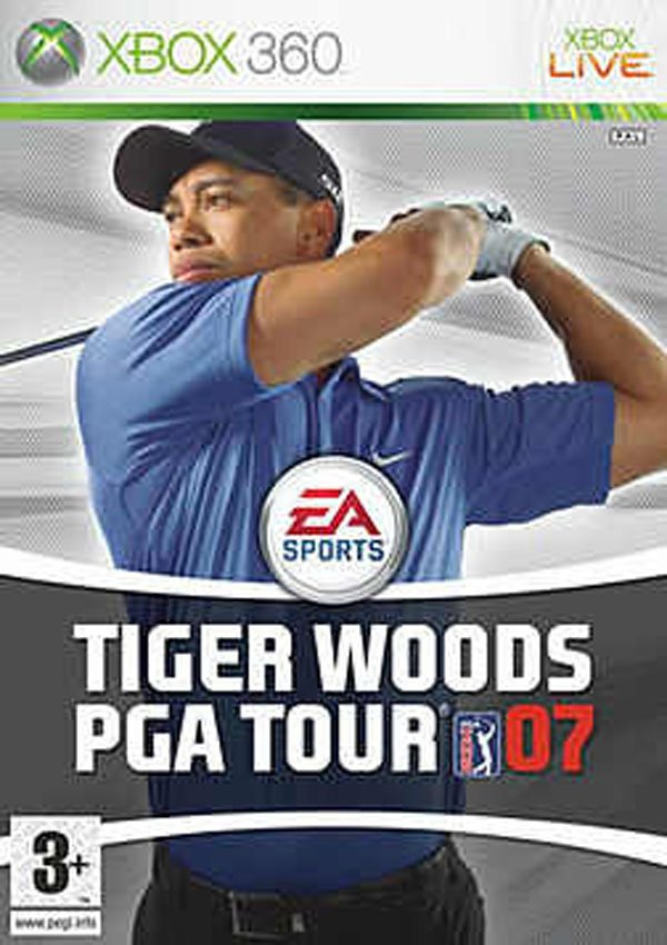 Tiger Woods PGA Tour 06 Video Game Back Title by WonderClub