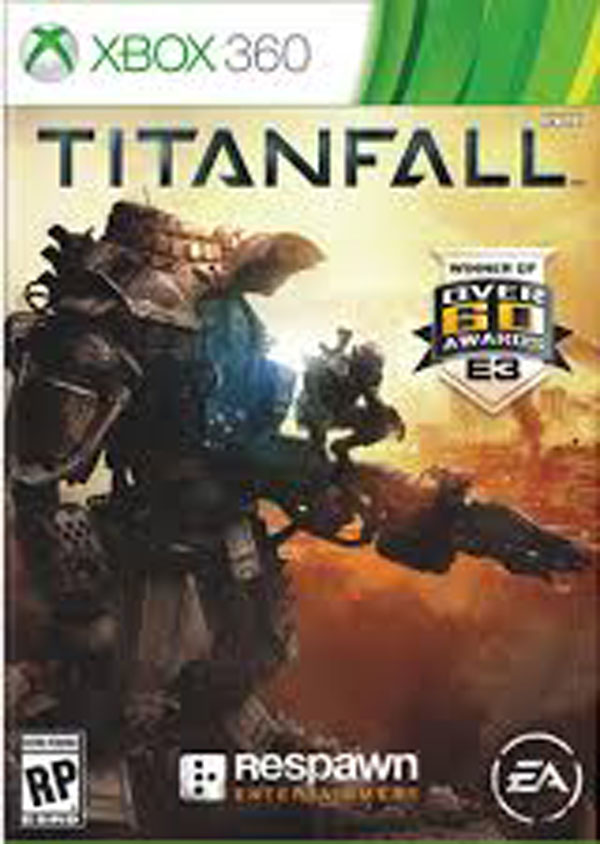 Titanfall Video Game Back Title by WonderClub