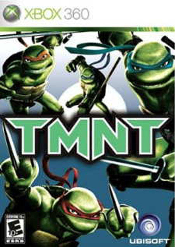 TMNT Video Game Back Title by WonderClub