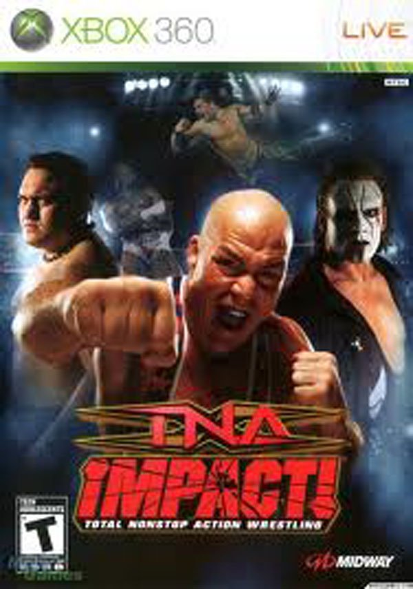TNA Impact!  Video Game Back Title by WonderClub