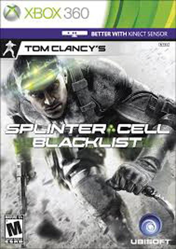 Tom Clancy's Splinter Cell: Blacklist Video Game Back Title by WonderClub