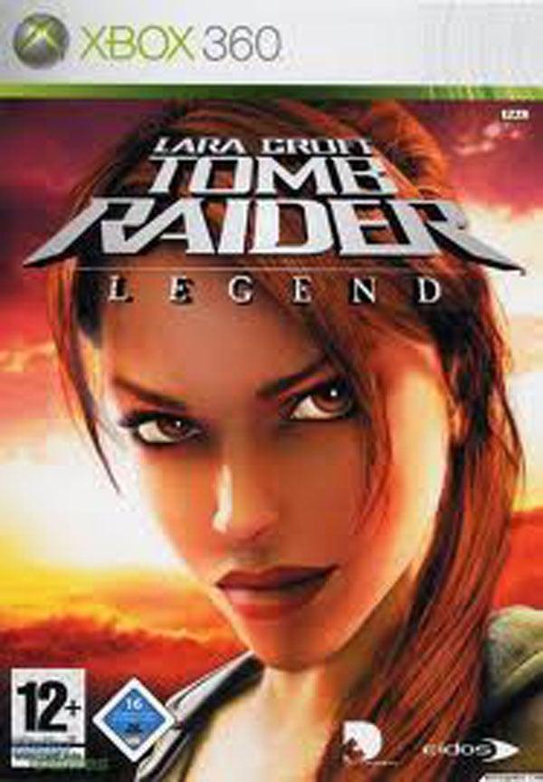 Tomb Raider: Legend Video Game Back Title by WonderClub
