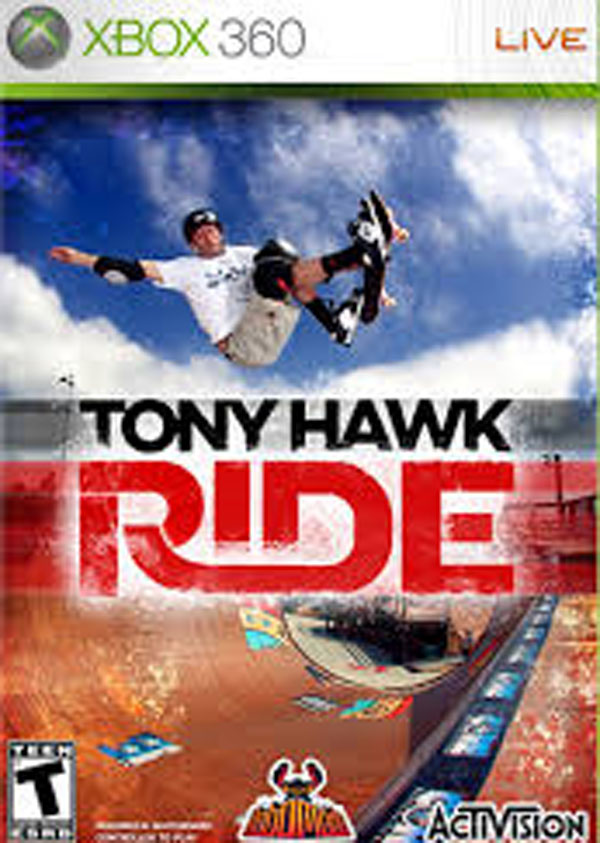 Tony Hawk: Ride Video Game Back Title by WonderClub
