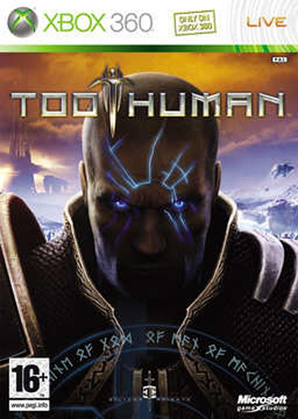 Too Human Video Game Back Title by WonderClub
