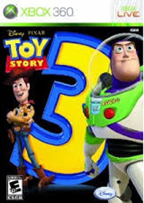 Toy Story 3: The Video Game Video Game Back Title by WonderClub