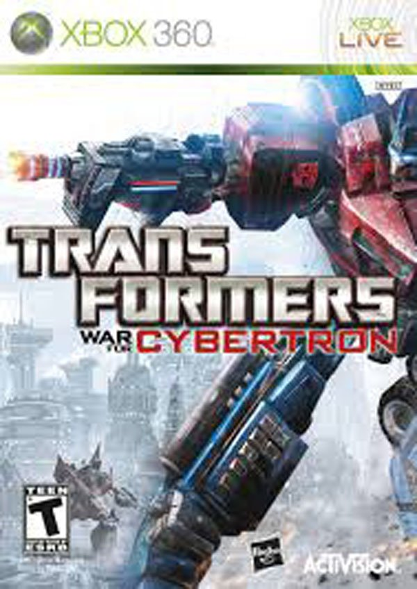 Transformers: War For Cybertron Video Game Back Title by WonderClub