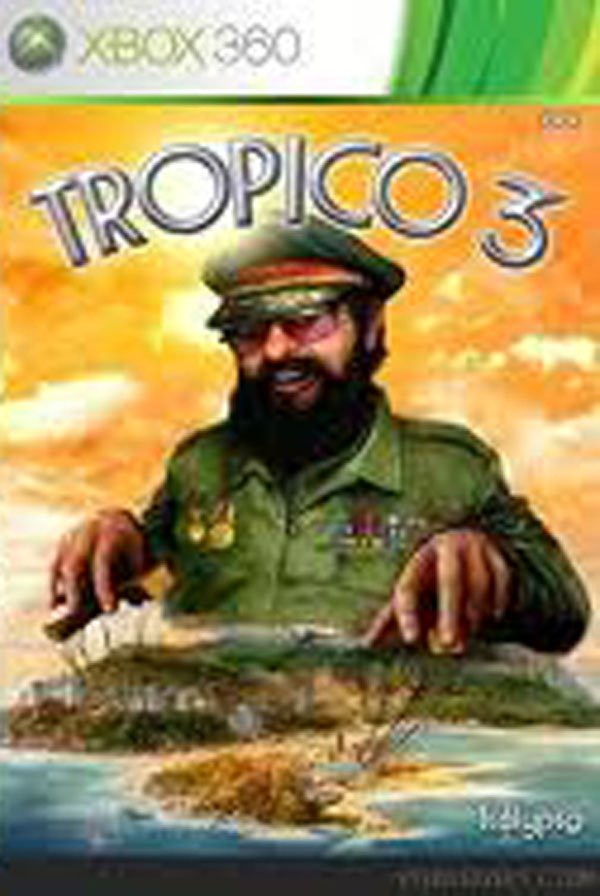 Tropico 3 Video Game Back Title by WonderClub