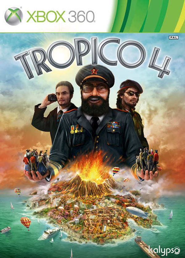 Tropico 4 Video Game Back Title by WonderClub