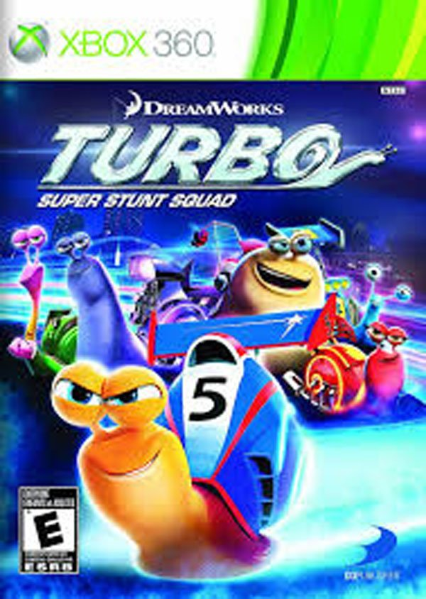 Turbo Video Game Back Title by WonderClub