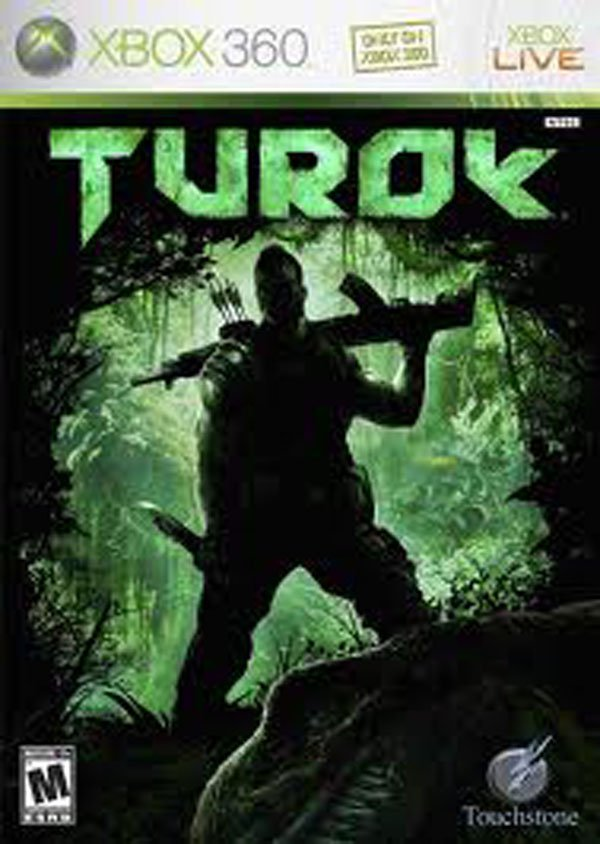 Turok (video Game) Video Game Back Title by WonderClub