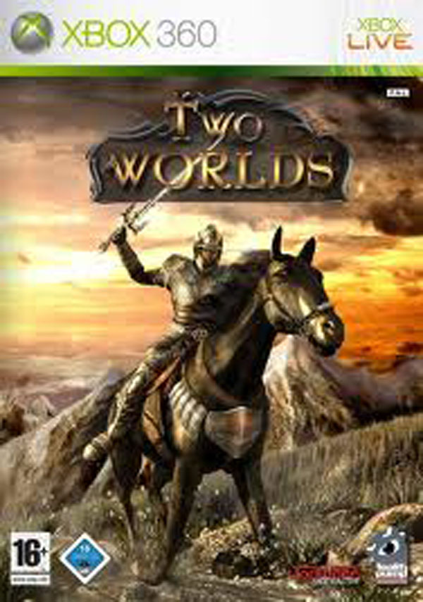 Two Worlds Video Game Back Title by WonderClub