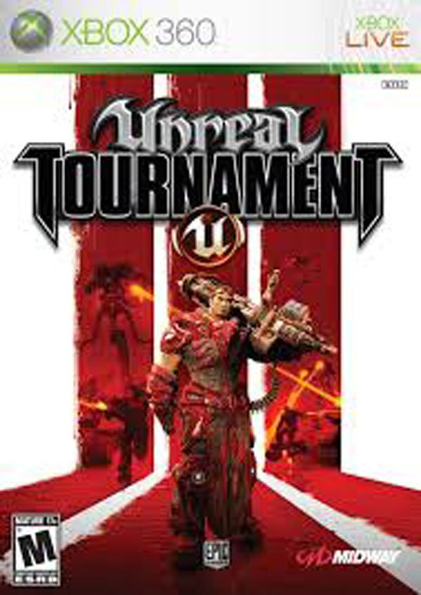 Unreal Tournament 3 Video Game Back Title by WonderClub