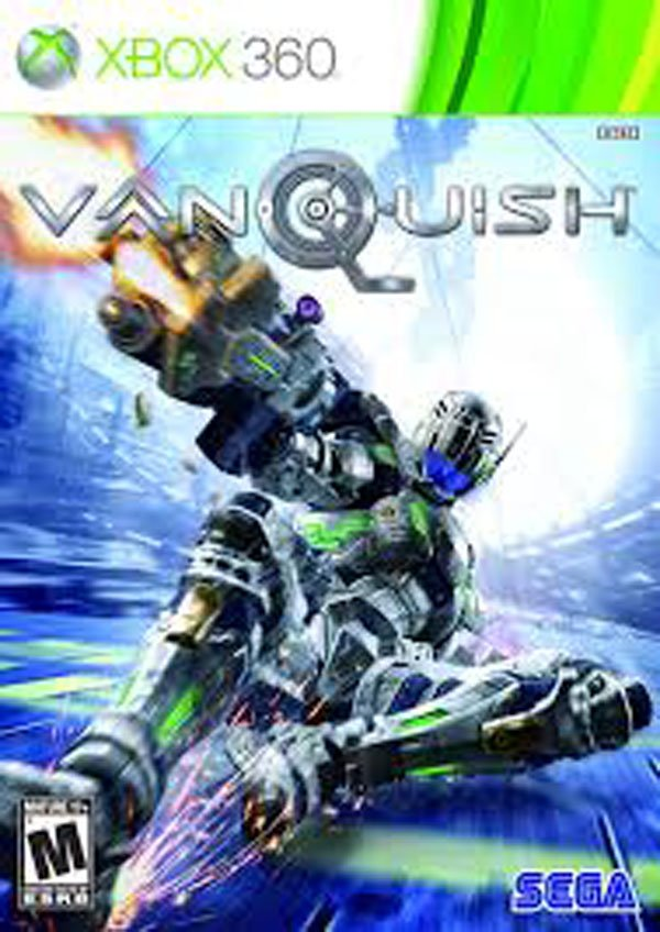 Vanquish  Video Game Back Title by WonderClub