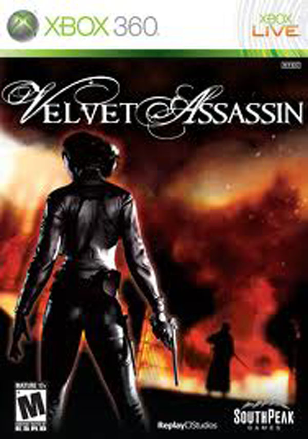 Velvet Assassin Video Game Back Title by WonderClub