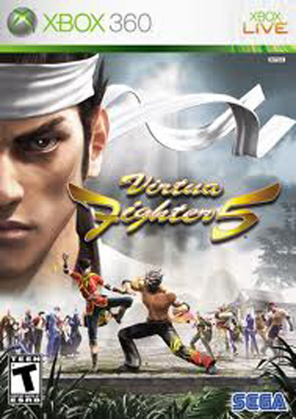 Virtua Fighter 5 Video Game Back Title by WonderClub