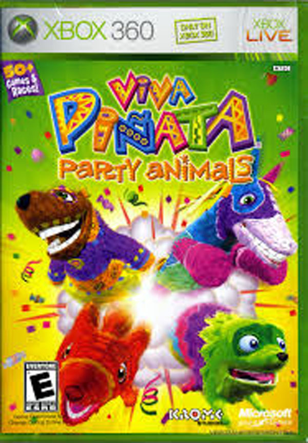 Viva Piñata Video Game Back Title by WonderClub