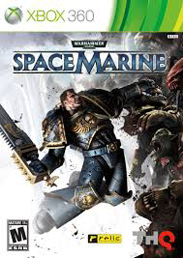 Warhammer 40,000: Space Marine Video Game Back Title by WonderClub