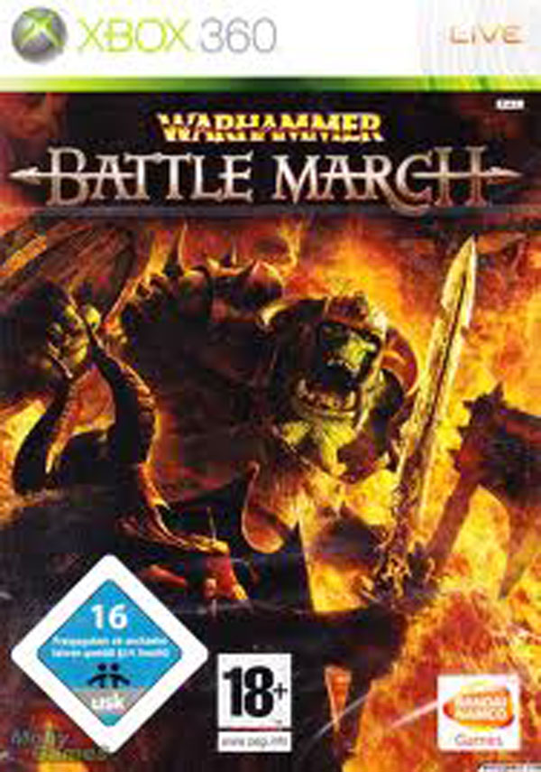 Warhammer: Mark Of Chaos Video Game Back Title by WonderClub