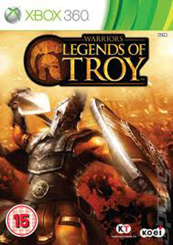 Warriors: Legends Of Troy Video Game Back Title by WonderClub