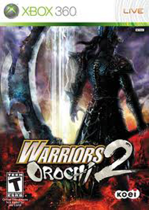Warriors Orochi 2 Video Game Back Title by WonderClub