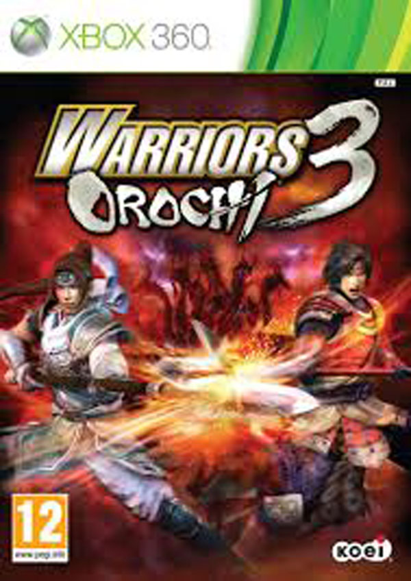 Warriors Orochi 3 Video Game Back Title by WonderClub